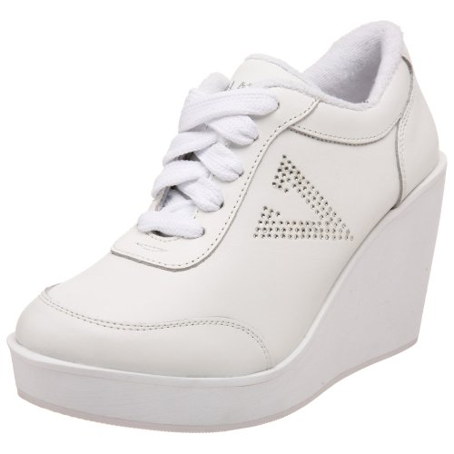 Volatile Womens Cash Wedge Sneaker White