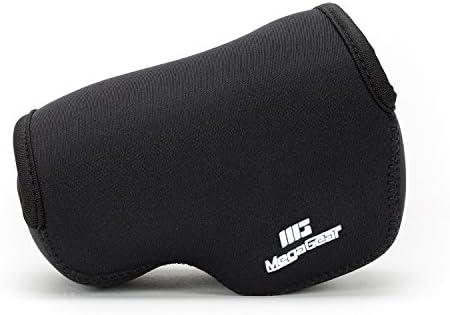 MegaGear Ultra Ligero Estuche de Camara de Neopreno, bolso – Cubierta Protectora sin Espejos para Canon PowerShot G1 X Mark II – con Mosquetón para Llevar Fácilmente (Negro): Amazon.es: Electrónica
