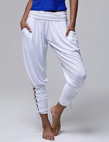 Attivi Harem Donna Yfltz Blue Unita basic Tinta Pantaloni Da 7fBzwq