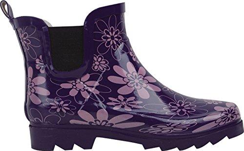 BS Womens Rain Boots Short Ankle Rubber Garden Fashion Snow Shoes Multiple Styles Color