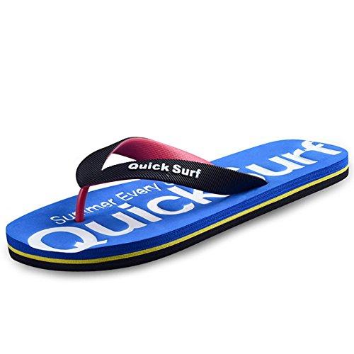 DYY infradito da blu estate uomo ciabattine da e spiaggia sandali studentessa B personalizzati Infradito da CCSZWUa
