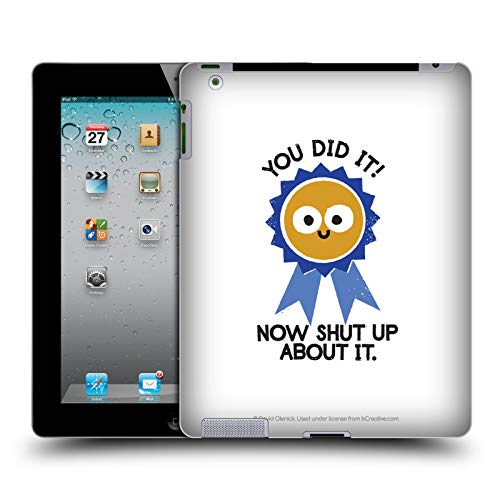 - Official David Olenick Boast Likely to Suceed Medal Objects Hard Back Case iPad 2 (2011)