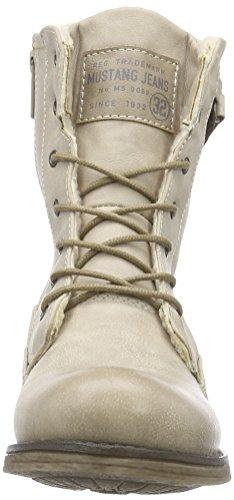 Mustang 1139-621, Botines para Mujer Blanco (243 ivory)