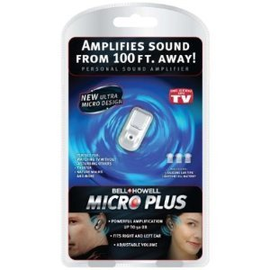 Bell and Howell 8397 Micro Plus Personal Sound Amplifier (Clear Personal Sound Amplifier)