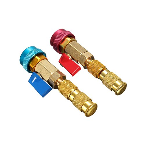 Core Air Conditioning - Hanperal Air Conditioning R134A Valve Core Remover/Installer High Low Pressure Tool