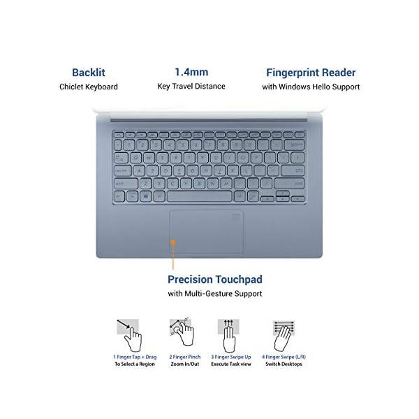 "ASUS VivoBook S14 Intel Core i5-1035G1 10th Gen 14"" (35.56cms) FHD Thin and Light Laptop (8GB RAM/512GB NVMe SSD + 32GB Optane Memory/Windows 10/MS Office 2019/Silver Blue/1.35 kg), S403JA-BM033TS - - Laptops4Review"