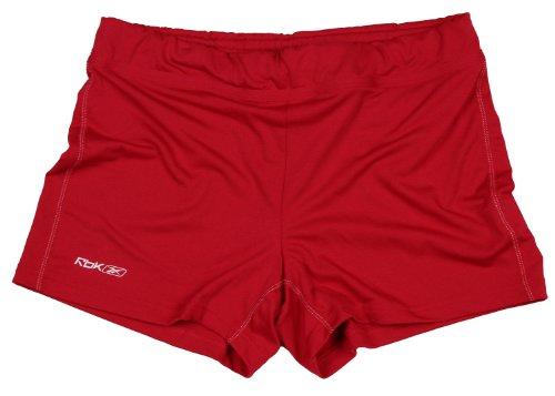 Reebok para mujer Athletic pantalón corto para rendimiento Bright Red