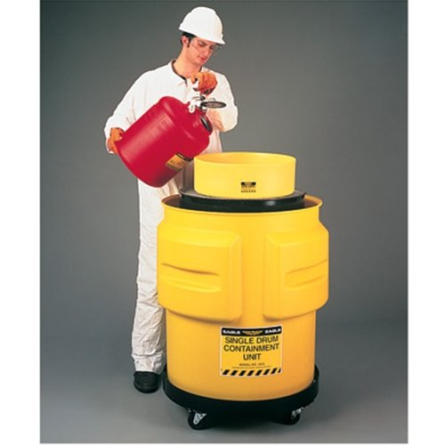 Dispensing Mobile Unit (Eagle 1612 1 Drum Containment Unit, 65 Gallon Capacity, 31