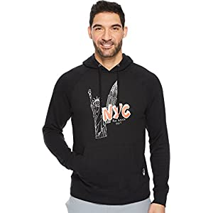 ASICS Men's NYC Fleece Hoodie Performance Black Large