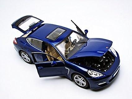 Maisto 36197 BL - Porsche - Panamera Turbo - 1/18 Escala: Amazon.es: Juguetes y juegos