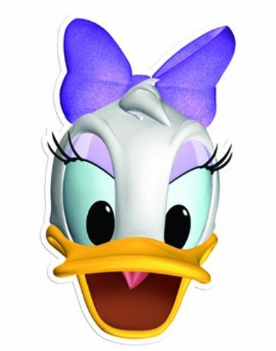 Star Cutouts Printed Card Mask of Daisy Duck by Star Cutouts Ltd