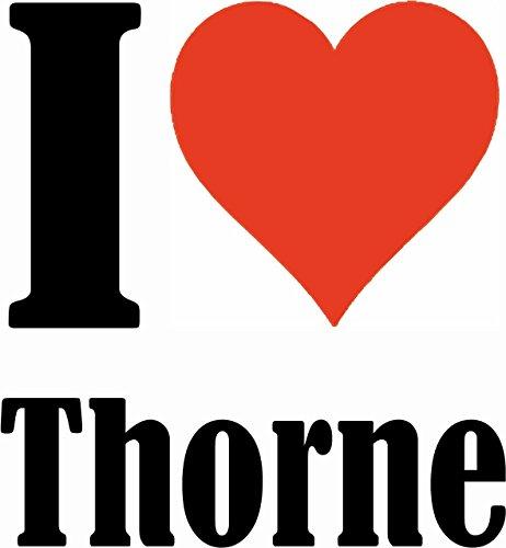 """Handyhülle iPhone 4 / 4S """"I Love Thorne"""" Hardcase Schutzhülle Handycover Smart Cover für Apple iPhone … in Weiß … Schlank und schön, das ist unser HardCase. Das Case wird mit einem Klick auf deinem Sm"""