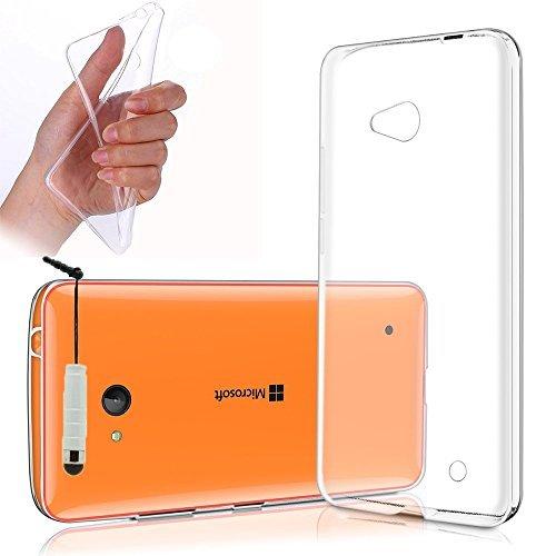 6 opinioni per Cover Custodia gel UltraSlim et compatibilità perfetto Microsoft Nokia Lumia 640