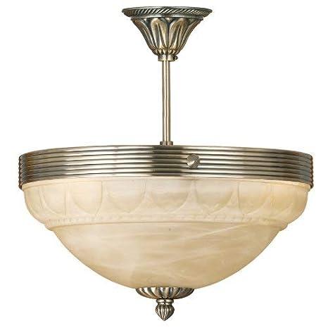 EGLO Marbella Lámpara de techo E14, Bronce: Amazon.es ...