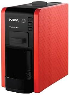 KREA ES200R - Cafetera (Independiente, Máquina espresso, 1 L, Dosis de café