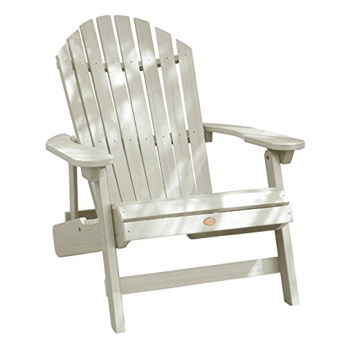Adirondack Counter Chair (Highwood King Hamilton Folding and Reclining Adirondack Chair, Whitewash)