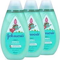 2 in 1 Shampoo, Johnson's 500ml x3
