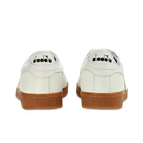 Waxed Plate À L Game Low Plateforme Diadora Adulte Pompes 20006 Blanc Mixte qtUfH0
