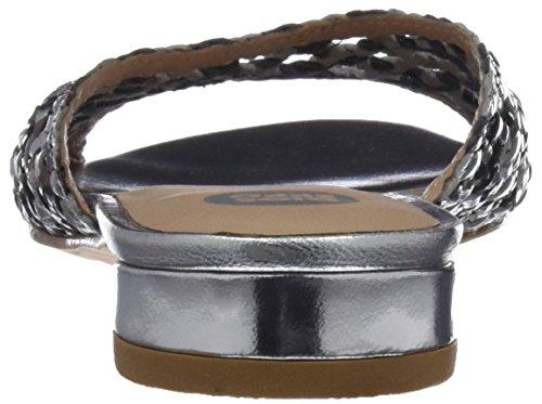 open argento 44152 da donna toe plomo Sandali Gioseppo AwEIA