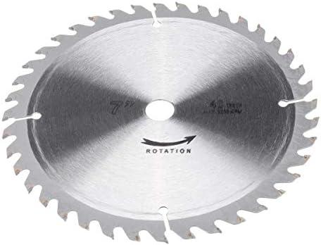 Gulakey 切削工具ローリング・ブレード2個180ミリメートル円形の切断工具木材ソーブレード60と40本の歯ディスク木工