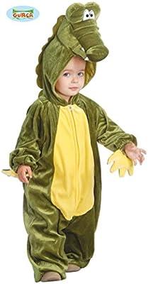 Guirca- Disfraz cocodrilo Baby, Color Verde, Talla 12-24 Meses ...