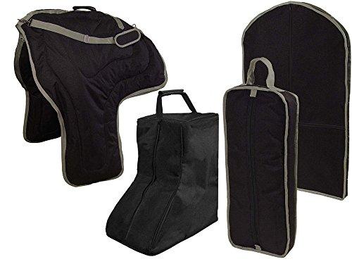 Tahoe caballo occidental sillín Cabestro maletero de prenda bolsa de transporte juego de 4 artículos
