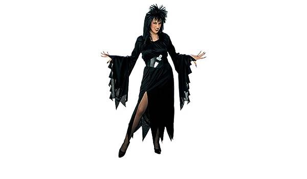 Disfraz Elvira Talla XL: Amazon.es: Juguetes y juegos