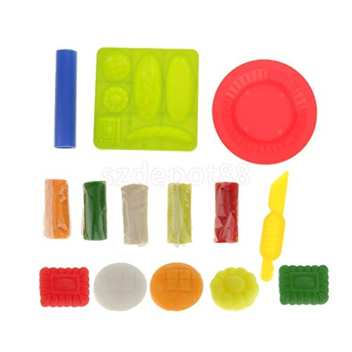 9Pc Colours Modelling Clay for Children Kids Art Craft Party by uptogethertek