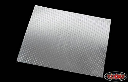 RC4WD RC 4WD Z-S0533 Scale Diamond Plate Aluminum Sheets (2)