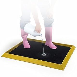 """UltraSource 446010 High Wall Disinfectant Boot Dip Mat, 32"""" Width x 39"""" Length"""