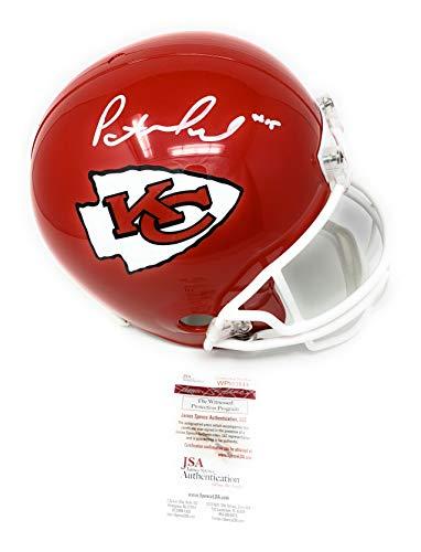 - Patrick Mahomes Kansas City Chiefs Signed Autograph Full Size Helmet JSA Witnessed Certified