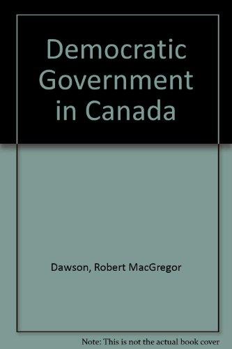 Democratic Government Canada