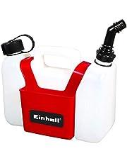 Originele Einhell combi-jerrycan (1,25 l olietank, 3 l benzinetank, incl. gereedschapstas)
