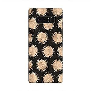 Cover It Up - Sand Star Black Galaxy Note 8 Hard Case