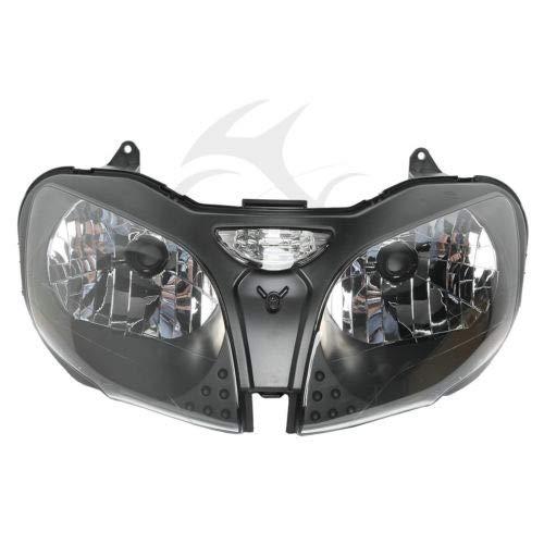 HUILI-JPHOME ヘッドライト ヘッドランプ アセンブリ カワサキ Ninja ZX9R ZX-9R 2000-2003 対応 B07Q56LN26
