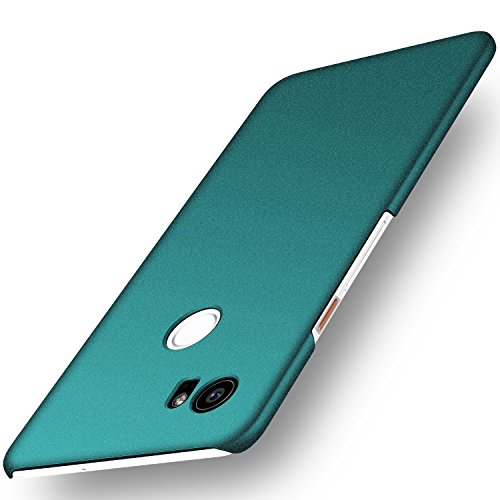 Google Pixel 2 XL Case, Arkour Minimalist Ultra Thin Slim Fit Cover with Non Slip Matte Surface Hard Cases for Google Pixel 2 XL (2017) - Gravel Green