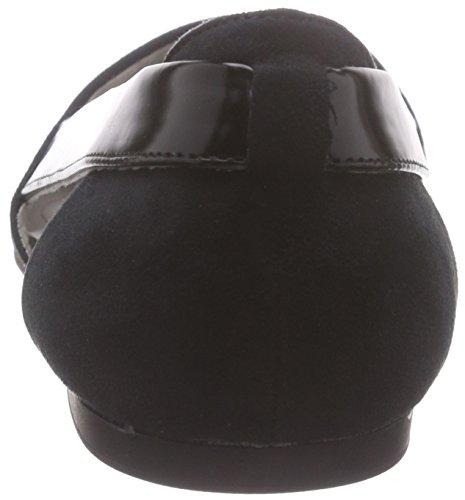 s.Oliver Damen 22109 Geschlossene Ballerinas Schwarz (Black 001)
