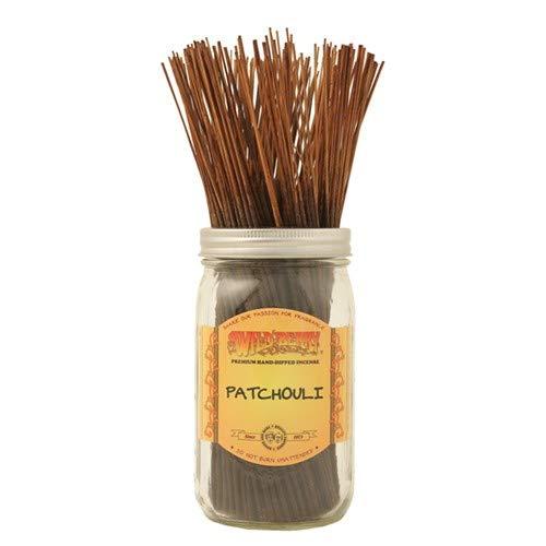 (1 X Patchouli - 100 Wildberry Incense Sticks)