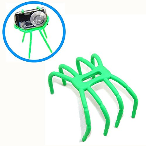 Spider Phone Stands Holder Multi-Functional Creative Variety Flexible Phone Car Bracket Spider Phone Stent Lazy Stent For Smartphones And Tablets (Green)