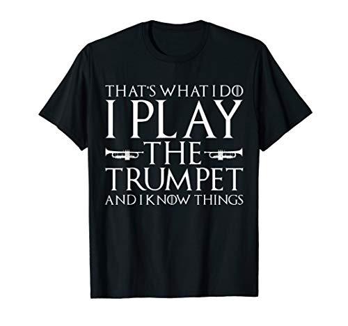 Funny Trumpet Player Shirt, Great Trumpeter T shirt. T-Shirt