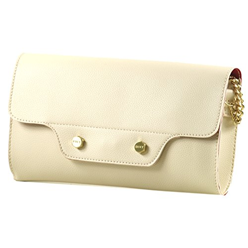 HOUSE OF ENVY - Tasche LIPSTICK CLUTCH doubleface offwhite, NVFS17C004