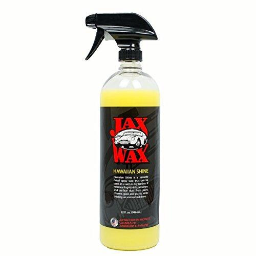 Shine Professional Detailer (Jax Wax Hawaiian Shine Professional Wax As You Dry Spray Car Wax 32 Oz)