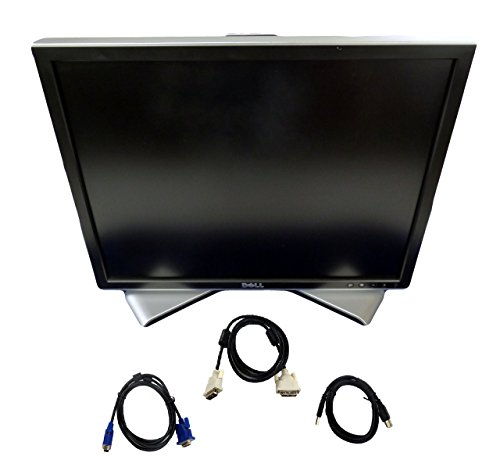 - Dell 2007FP 20.1 Inch Ultrasharp 1600x1200 Flat Panel Monitor with Height-Adjustable stand - C9536 (Renewed)