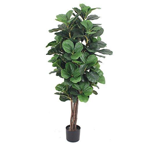 CHW Artificial 5-Feet Fiddle Leaf Fig Tree