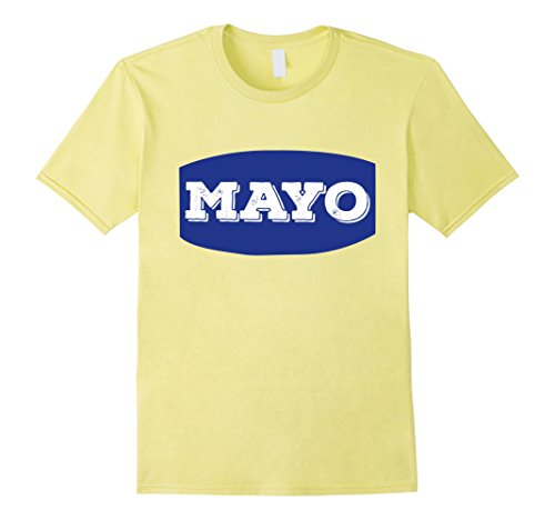 Mens Mayo Mayonnaise Group Halloween Costume T-Shirt Tshirt Medium (Burger Group Costume)