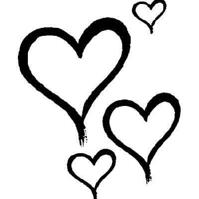 NUEVO sello, 4 de corazones, talla 2,5 x 3 cm [Haushaltswaren]: Amazon.es: Hogar