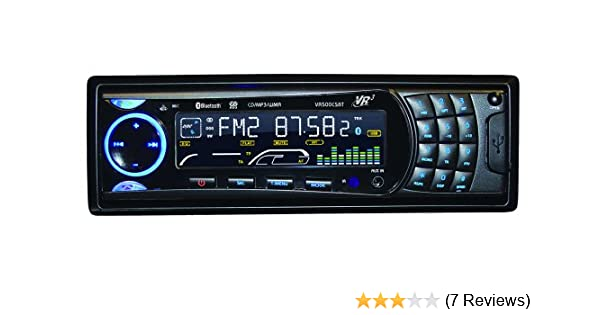 amazon com roadmaster vr3 vr500cs bt cd car stereo with bluetooth rh m amazon com