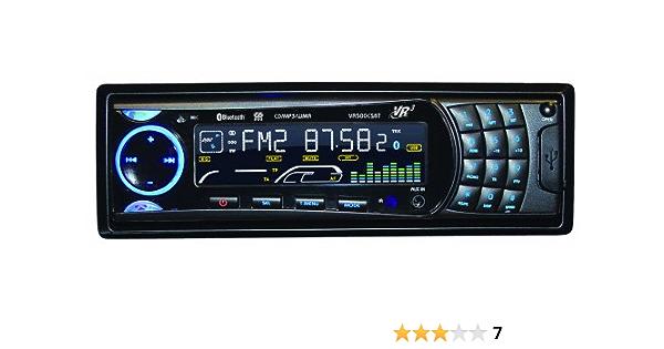 Amazon.com: Roadmaster VR3 VR500CS-BT CD Car Stereo with Bluetooth:  Automotive   Vr500cs Bt Wiring Harness      Amazon.com