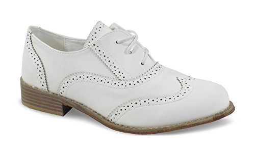 By Scarpe Donna Basse Shoes Bianco Stringate 7qxr710S