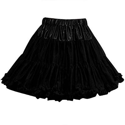 Sarahbridal Women's 50s Vintage Short Tutu Skirt Dance Dresses Petticoat Underskirts 12019